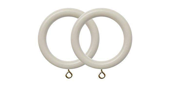 Jones Estate Clay 50mm Curtain Pole Rings (Pack 4) - Curtain Poles Emporium