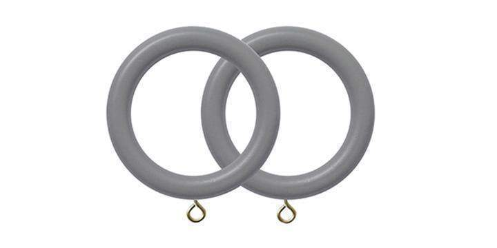 Jones Estate Lead 50mm Curtain Pole Rings (Pack 4) - Curtain Poles Emporium