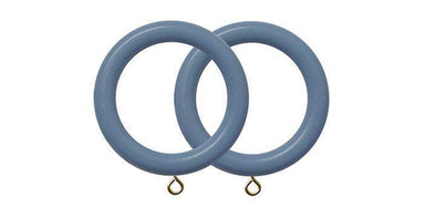 Jones Estate Regatta 50mm Curtain Pole Rings (Pack 4)-Curtain Poles Emporium