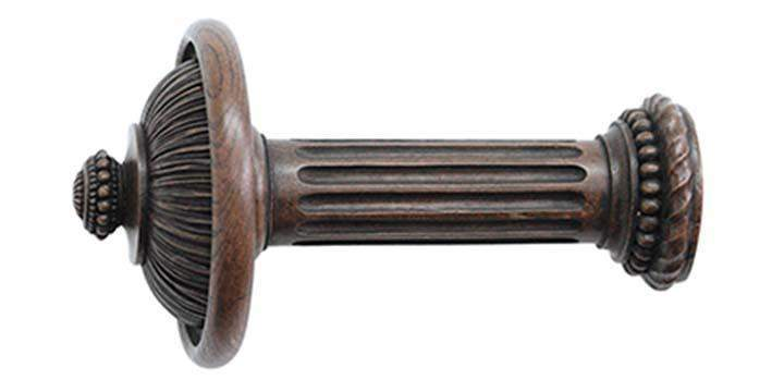 Jones Florentine Oak Pleated Holdback - Curtain Poles Emporium
