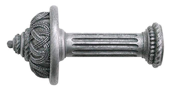 Jones Florentine Pewter Rope Holdback - Curtain Poles Emporium