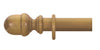 Cameron Fuller 50mm Antique Pine Curtain Pole Acorn Finial - Curtain Poles Emporium