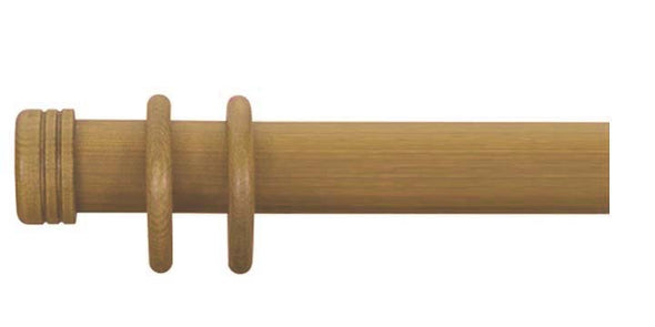 Cameron Fuller 63mm Antique Pine Curtain Pole End Cap Finial - Curtain Poles Emporium