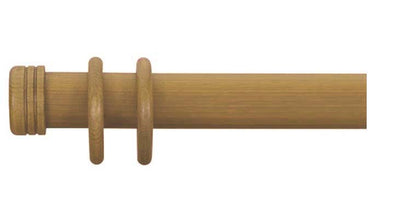 Cameron Fuller 50mm Antique Pine Curtain Pole End Cap Finial - Curtain Poles Emporium