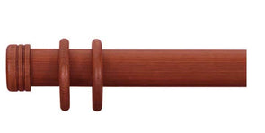 Cameron Fuller 63mm Cherry Curtain Pole End Cap Finial - Curtain Poles Emporium