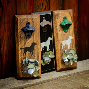 Load image into Gallery viewer, Labrador Magnetic Bottle Opener