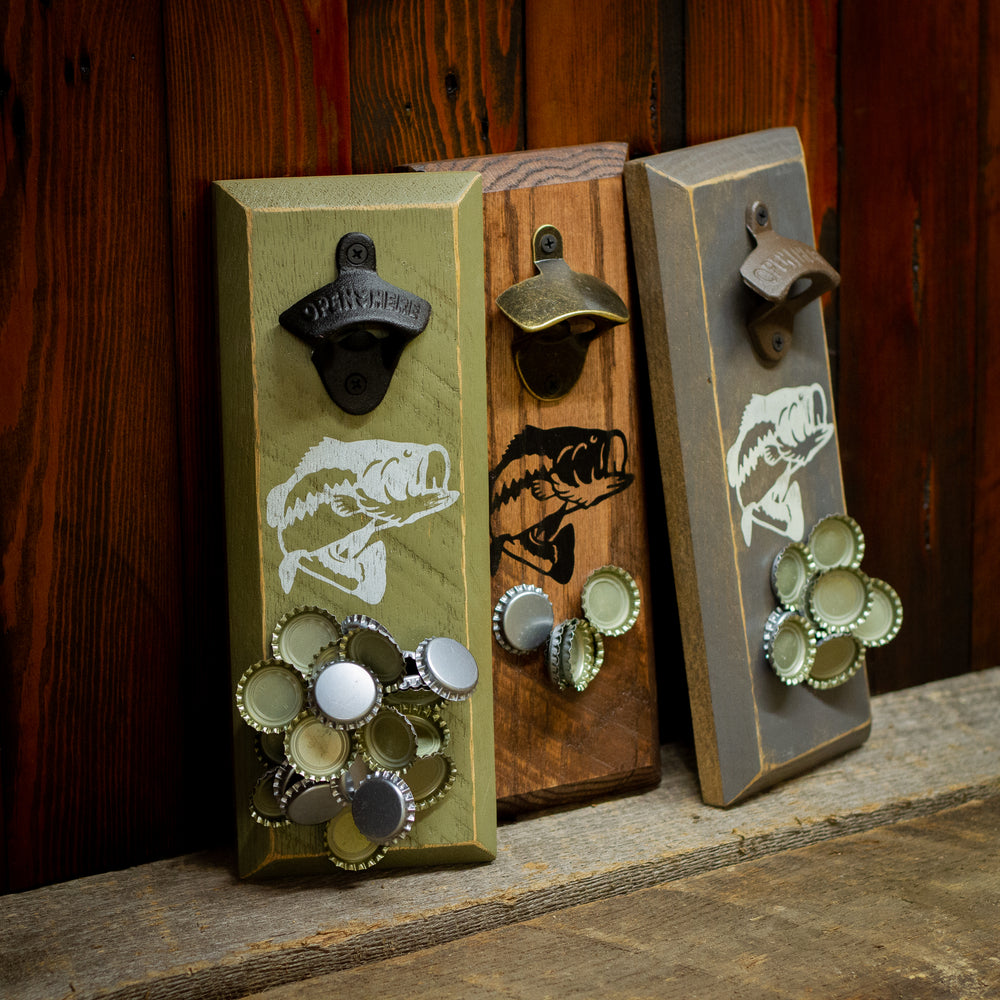 Bass Fish Magnetic Bottle Opener