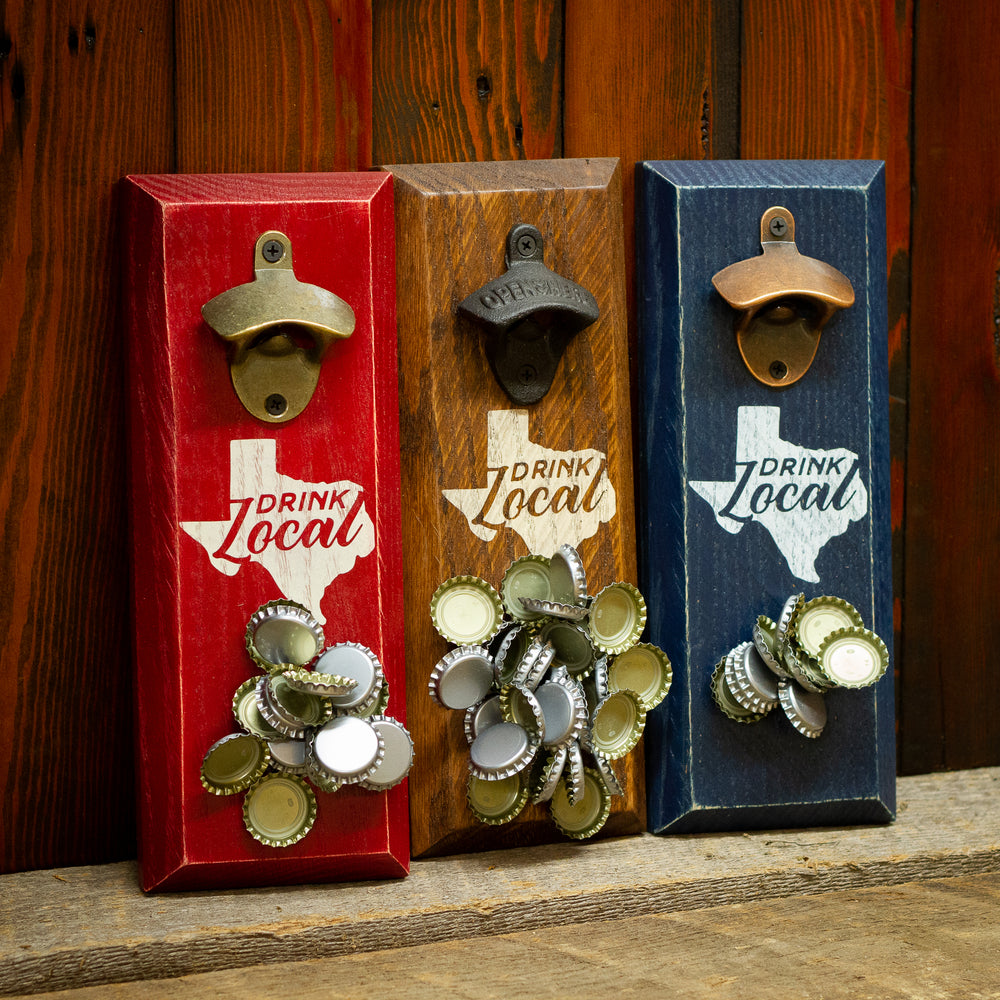 Texas Drink Local Magnetic Bottle Opener