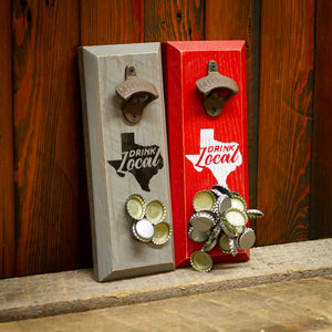 Load image into Gallery viewer, Texas Drink Local Magnetic Bottle Opener