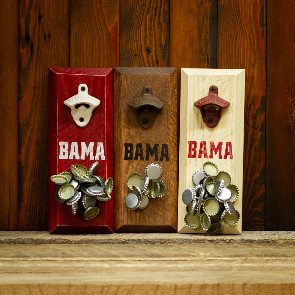 University of Alabama Crimson Tide BAMA Magnetic Bottle Opener