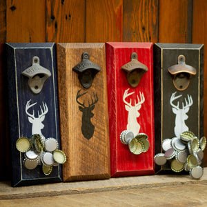 Load image into Gallery viewer, Whitetail Buck Deer Magnetic Bottle Opener