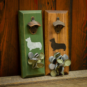 Load image into Gallery viewer, Welsh Corgie Magnetic Bottle Opener