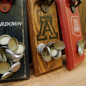 Load image into Gallery viewer, University of Arizona Wildcats Magnetic Bottle Opener