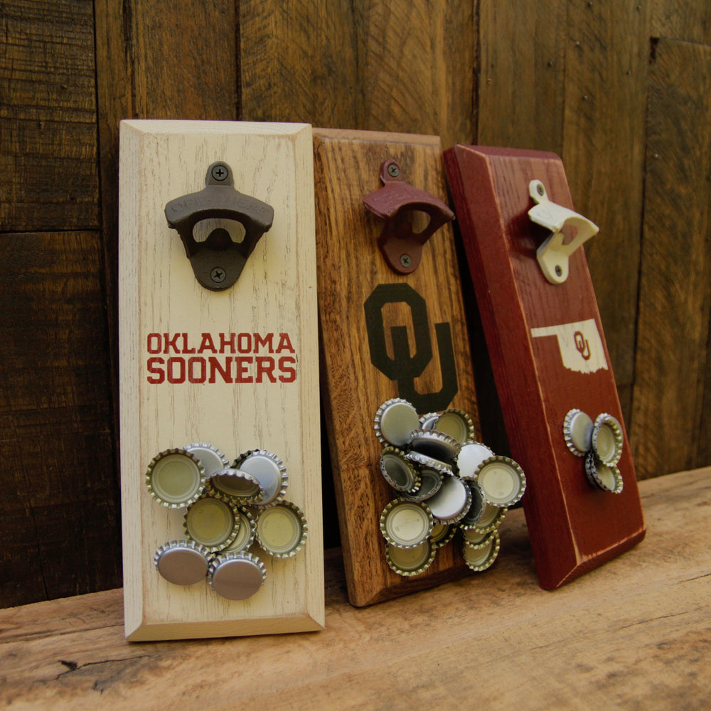 University of Oklahoma Sooners Magnetic Bottle Opener