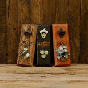 Load image into Gallery viewer, Oklahoma State University Cowboys Magnetic Bottle Opener