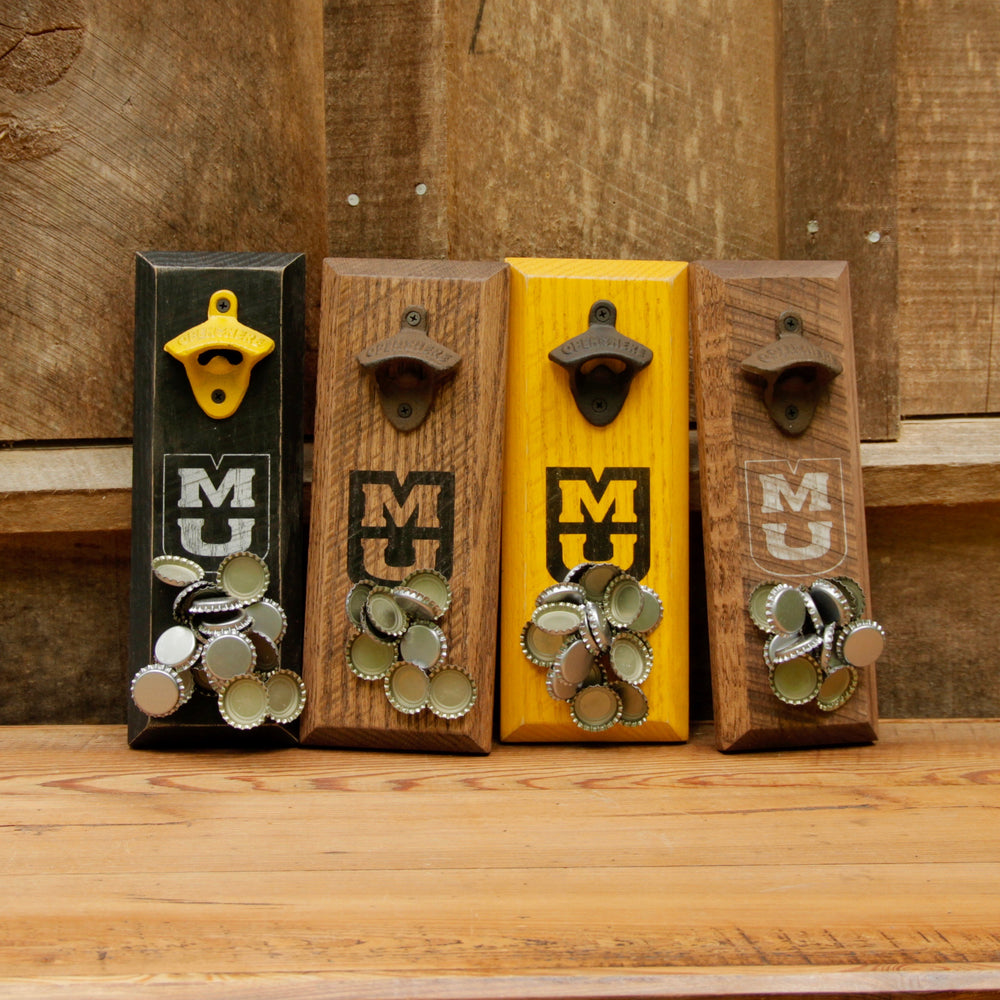 University of Missouri Tigers Logo Magnetic Bottle Opener
