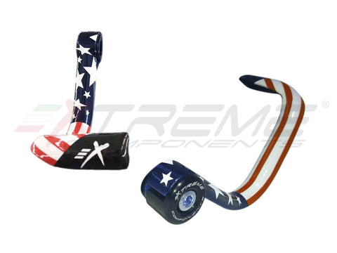 BRAKE LEVER CARBON FIBER GP EVO PROTECTION - USA