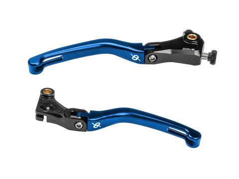 Bonamici, BMW, S1000RR, Folding, Levers, (15-19), (Black/Blue)