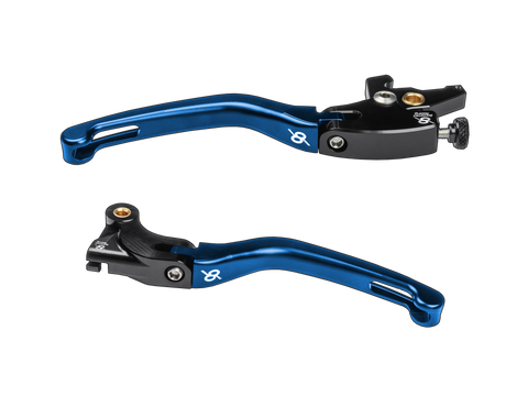 Bonamici, Yamaha, R3, Levers, (2015+), (Black/Blue)
