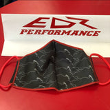 EDR PERFORMANCE polyester face mask Coronavirus protection