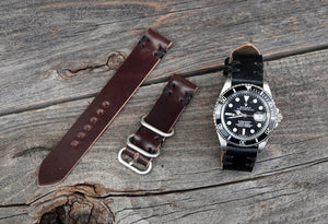 Handmade Shell Cordovan Watch Straps