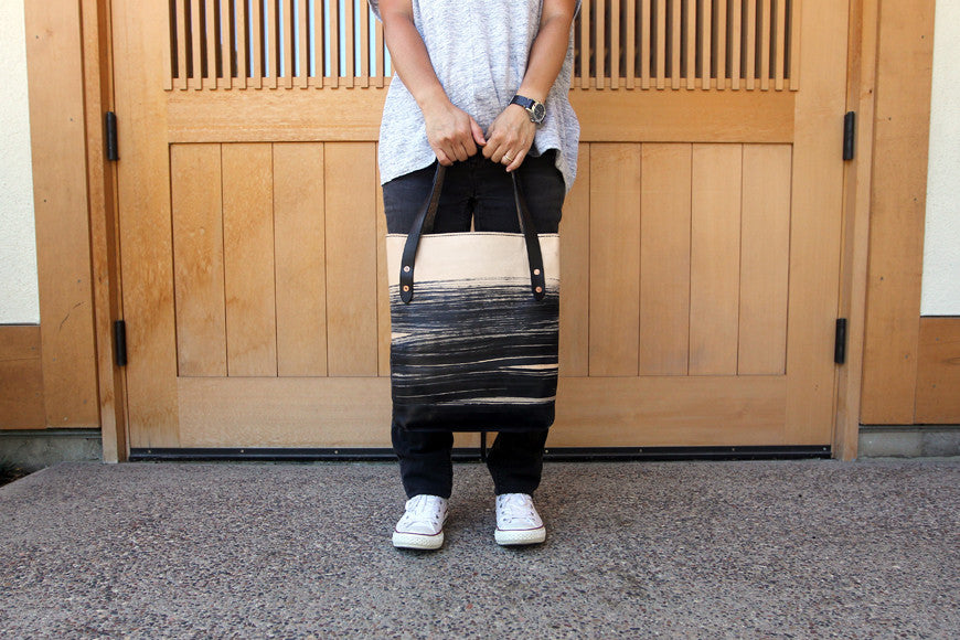 The Sumie Classic Leather Tote Bag
