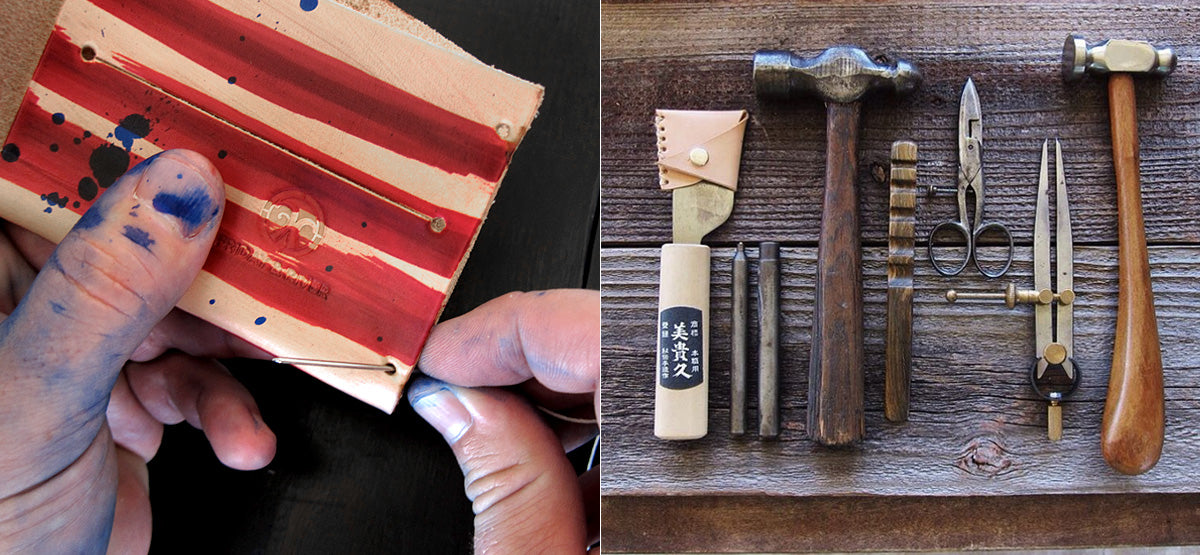 Friday and River Story and Leatherwork tools