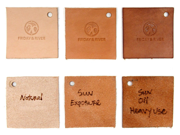 Natural Vegetable Tanned Leather Evolution