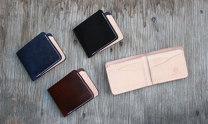 Classic mens leather wallets billfolds