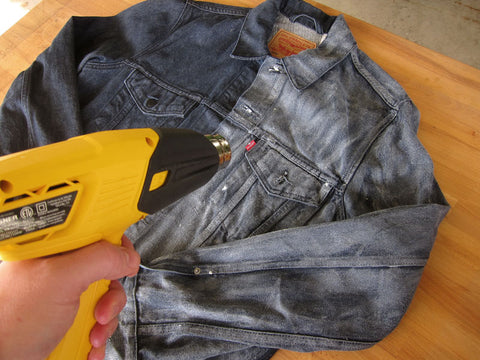 Waxed Denim Canvas Heat Gun
