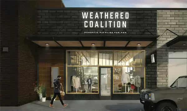 Weathered Coalition Mens Store Austin Texas
