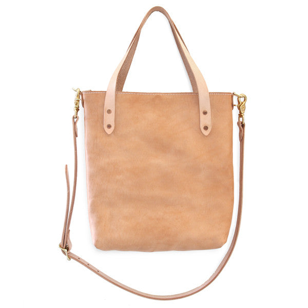 Crossbody Leather Tote Bag