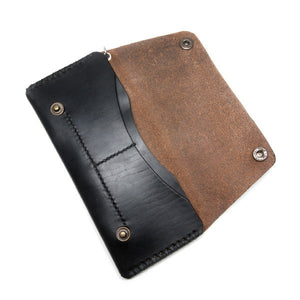 Black Chromexcel Long Wallet