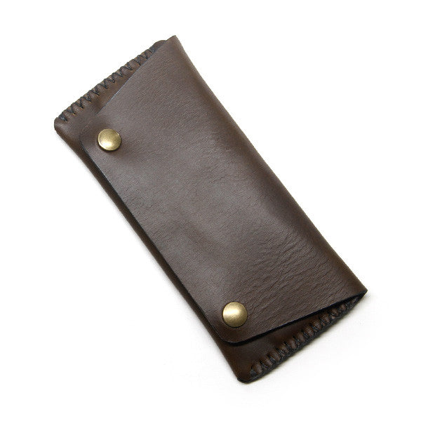 Olive Chromexcel Long Wallet