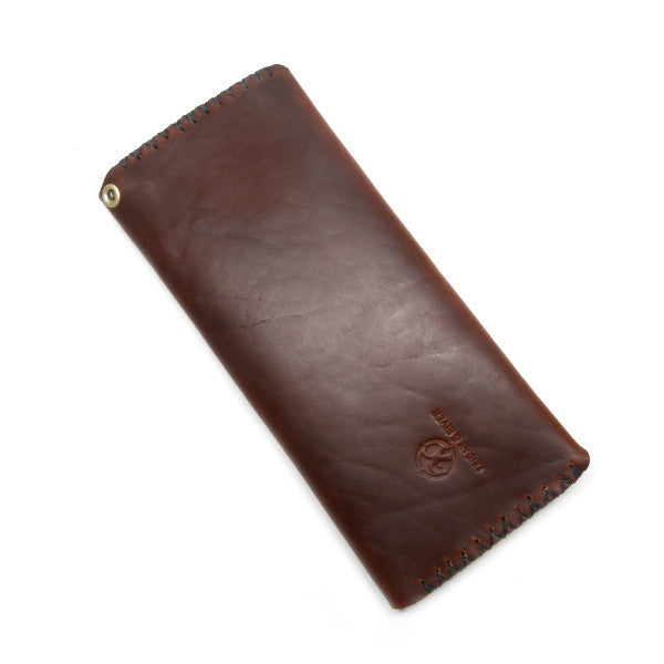 Brown Horween Long Wallet