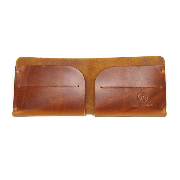 Sunrise Horween Chromexcel Leather Wallet Open