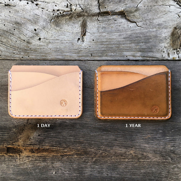 Five Pocket Card Holder – Natural