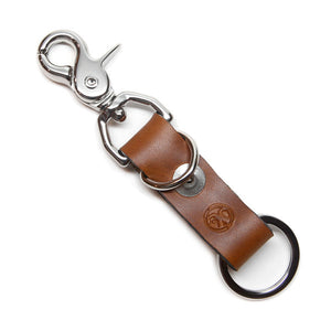 Sunrise Horween Chromexcel Leather Key Clip Back