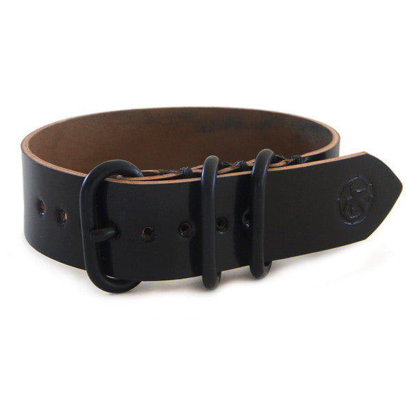 Black Shell Cordovan Watch Band
