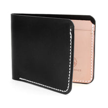 Load image into Gallery viewer, Black English Bridle Slim Billfold