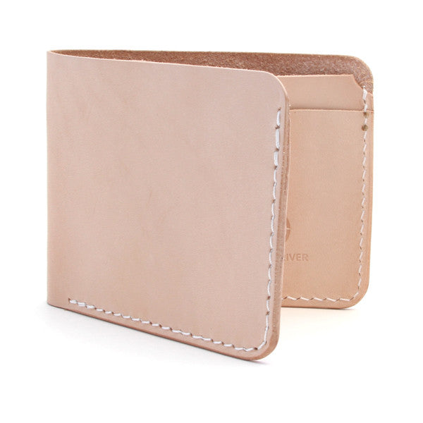 Natural Veg Tan Slim Billfold