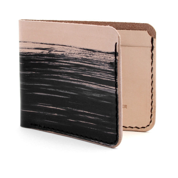 Dyed Natural Veg Tan Billfold Wallet