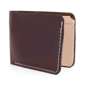 Brown Horween Chromexcel Slim Wallet