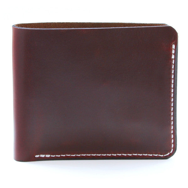 Brown Tan Horween Chromexcel Slim Wallet Side