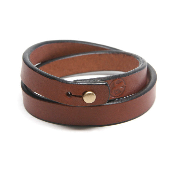 Saddle Tan Leather Bracelet