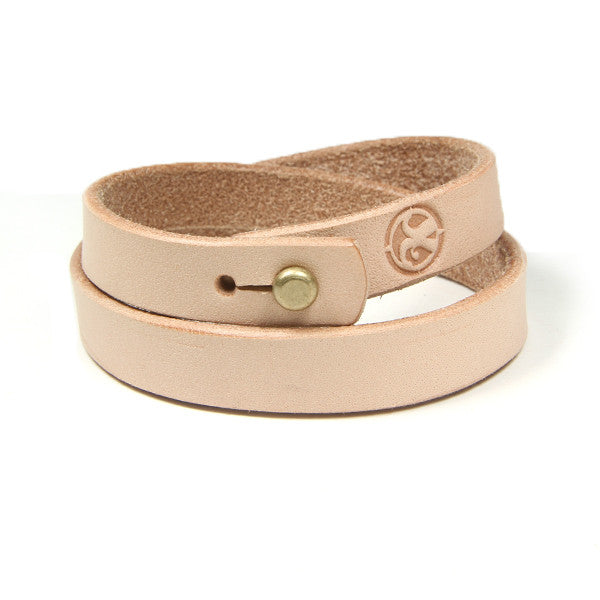 Veg Tan Double Bracelet