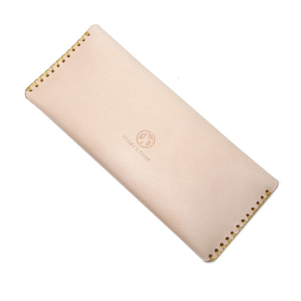Veg Tan Pencil Pouch