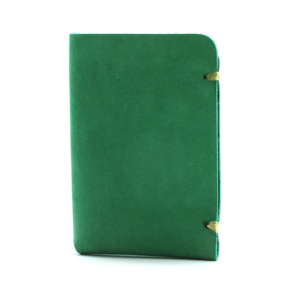 McGraw Card Holder - Horween Kelly Green