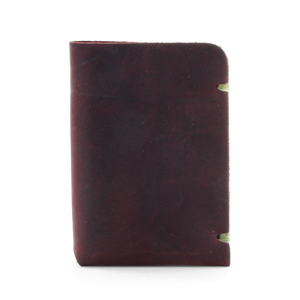 McGraw Minimal Leather Card Wallet Side