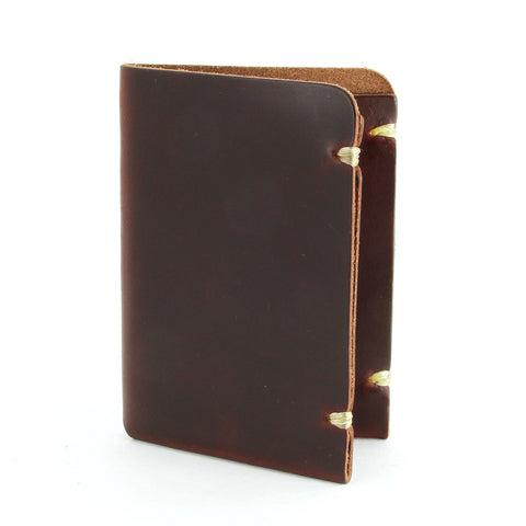 Tan Horween Chromexcel Card Wallet